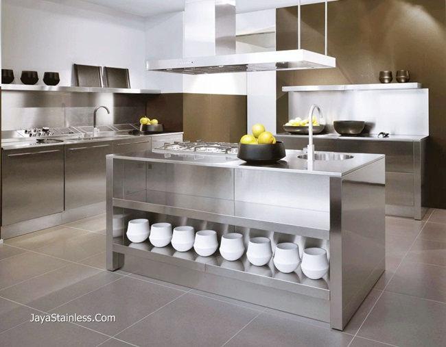 Desain kitchen set stainless 010