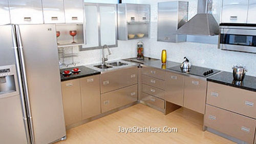 Amazing Desain Kitchen Set Stainless 004