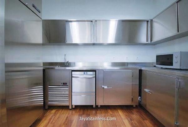 Desain kitchen set stainless 008
